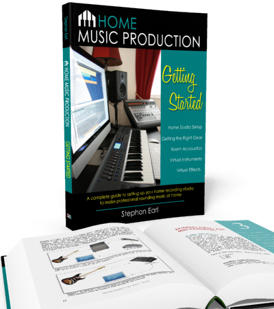 Home Music Production: Getting Started - book by Stephan Earl