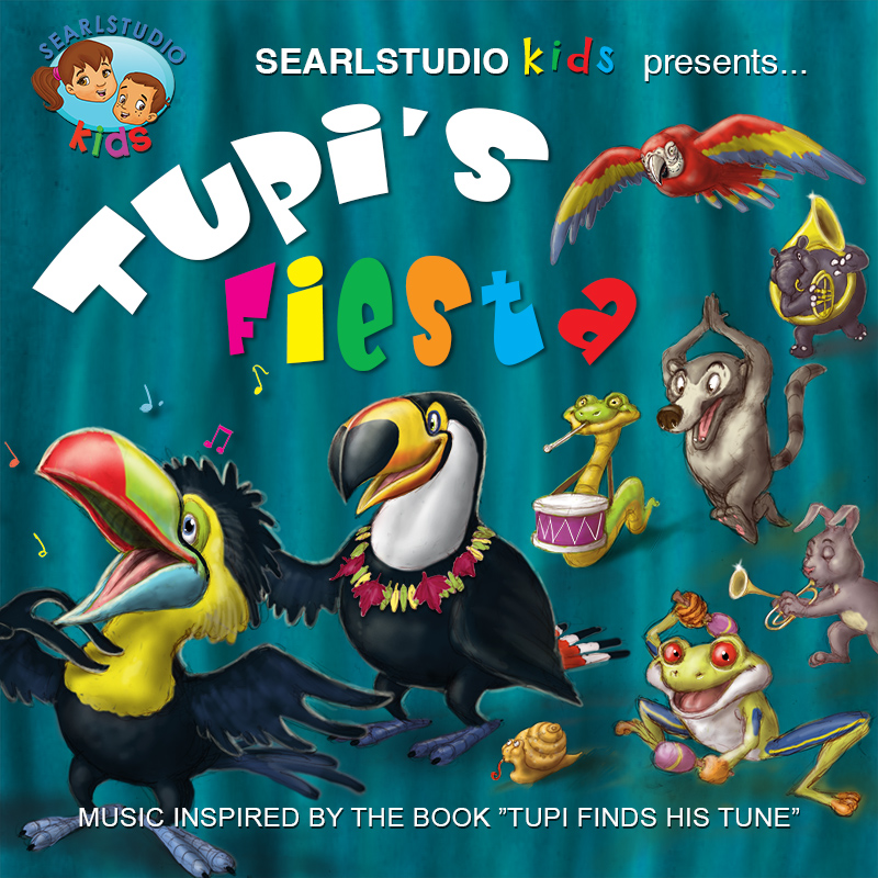 Tupi's Fiesta Music Composed and Performed by Stephan Earl
